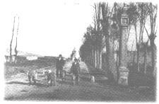 Paseo de San Francisco a finales del XIX